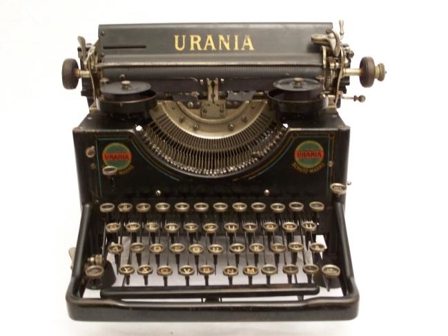 urania schreibmaschine b rozubeh r. Black Bedroom Furniture Sets. Home Design Ideas